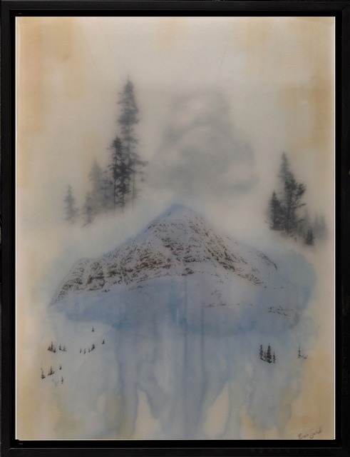 , 'Blue Mtn II,' 2018, Paradigm Gallery + Studio