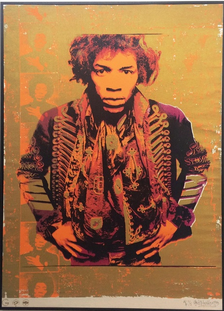 , 'Jimi Hendrix: Purple & Gold,' , Belgravia Gallery