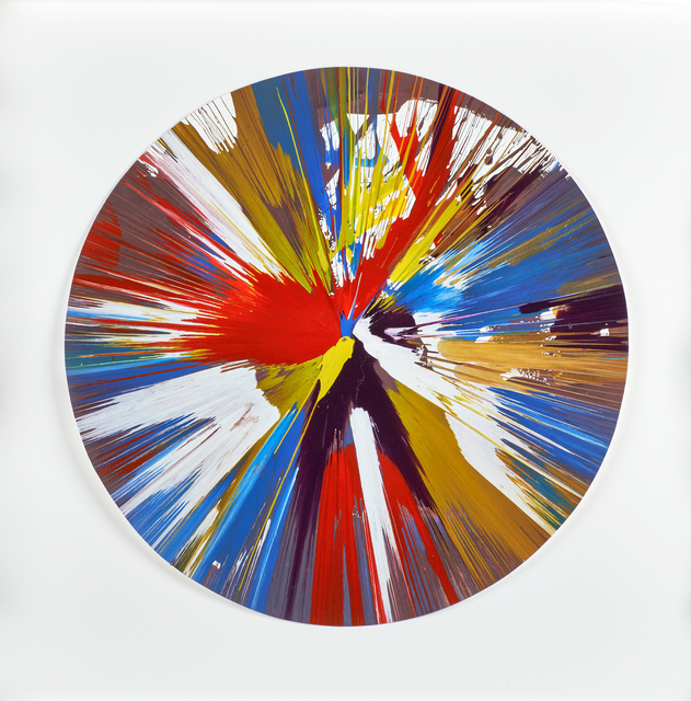 , 'Circle Spin Painting (Created at Damien Hirst Spin Workshop),' 2009, Omer Tiroche Gallery