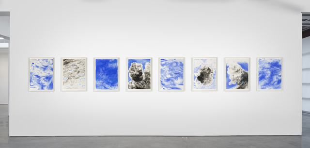 , 'sky studies - black and blue,' 2009-2010, Anthony Meier Fine Arts
