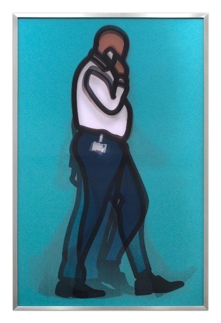 Julian Opie, 'Professional Series 1 - Detective', 2014, Gregg Shienbaum Fine Art