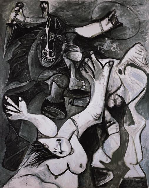 Pablo Picasso, 'L'enlèvement des Sabines (The Rape of the Sabines)', 1962, Painting, Oil on canvas, Fondation Beyeler