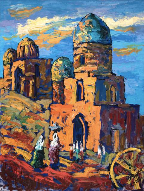 , 'Samarkand Shakhi-Zinda,' 2016, OYANU Gallery