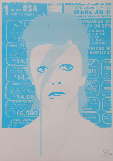 Pure Evil, 'David Bowie', 2016, Chiswick Auctions