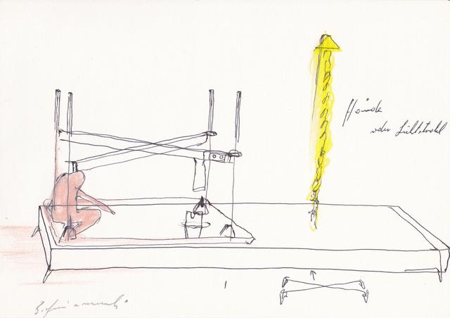 , 'Ohne Titel (Hände oder Lichtstrahl),' 1980, Galerie Elisabeth & Klaus Thoman