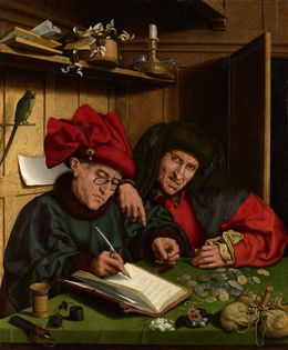 , 'The Misers,' 1548-1551, Royal Collection Trust
