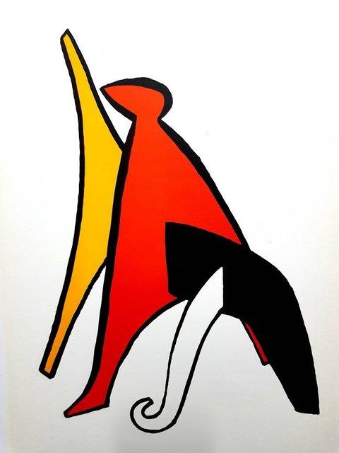 "Alexander Calder, 'Original Lithograph ""Behind the Mirror"" by Alexander Calder', 1976, Galerie Philia"