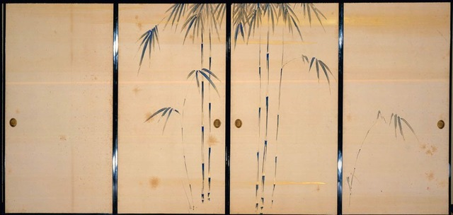 , 'Fusuma (Sliding Doors) with Seasonal Flowers and Grasses,' ca. 1840, Newark Museum