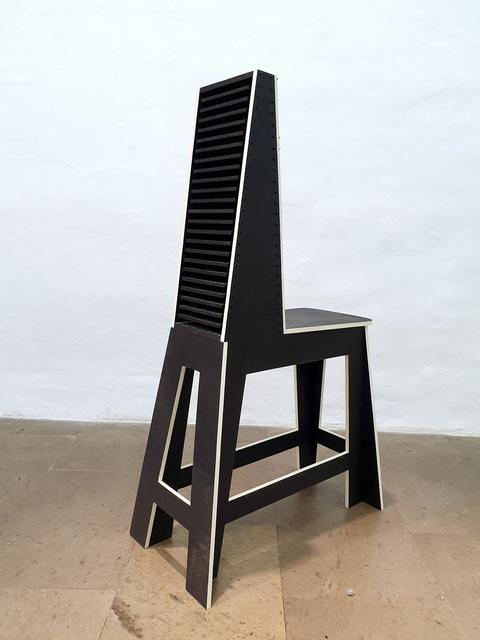 Julio Blancas, 'Stool chestbox', 2019, Galería Artizar