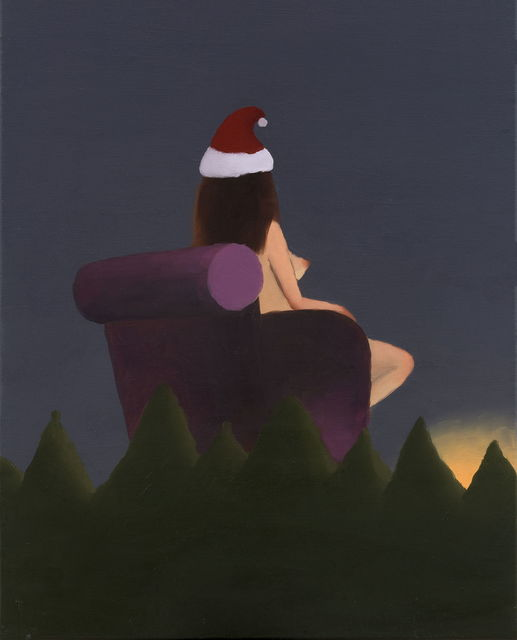 , 'Woman in Christmas Hat,' 2017, Hunsand Space