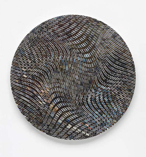 , 'Collage Tondo,' 2017, Marianne Boesky Gallery