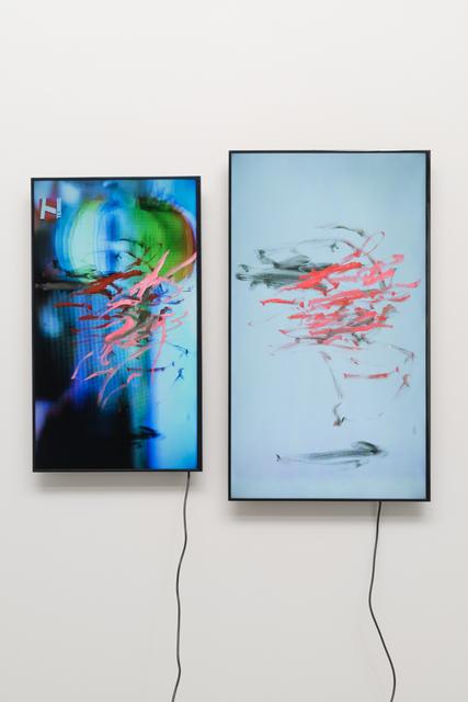 , 'gesture/data (feedback),' 2015, Pilar Corrias Gallery