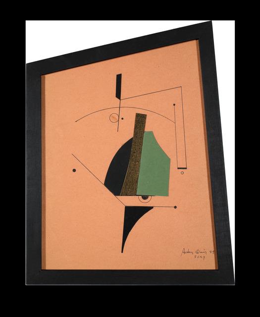 , 'Collage sin título,' 1949, Leon Tovar Gallery