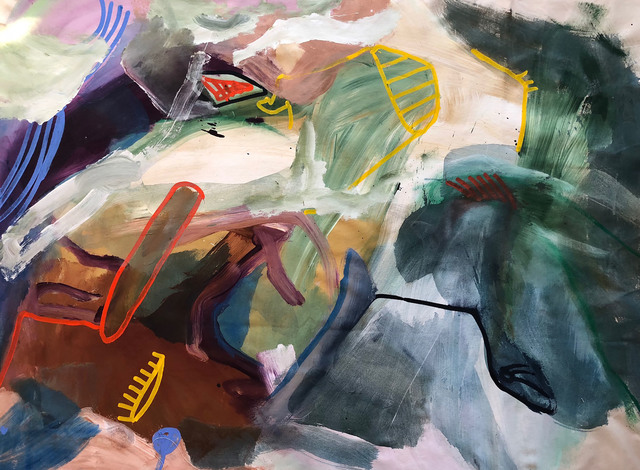 , 'Running with Sonny,' 2018, Quogue Gallery