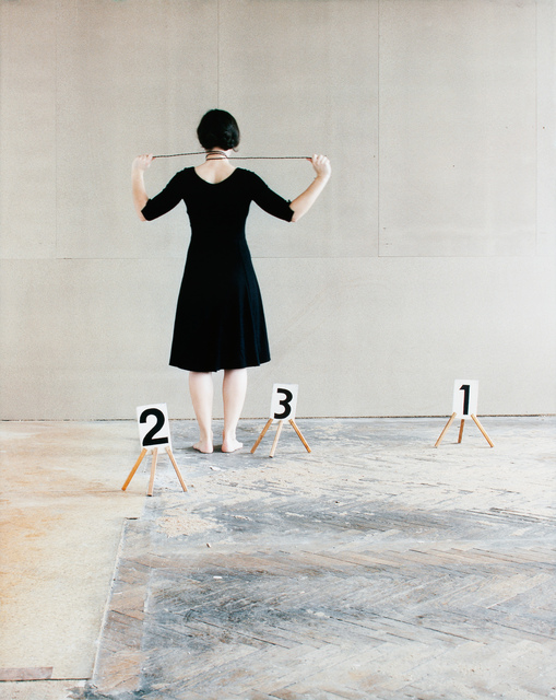 , 'Some Marks, A Square, and a Figure (triptych part 3/3),' 2012, Pierogi
