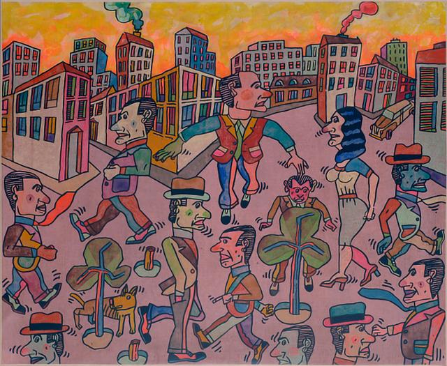 , 'Afrontando el día,' 2008, Durban Segnini Gallery