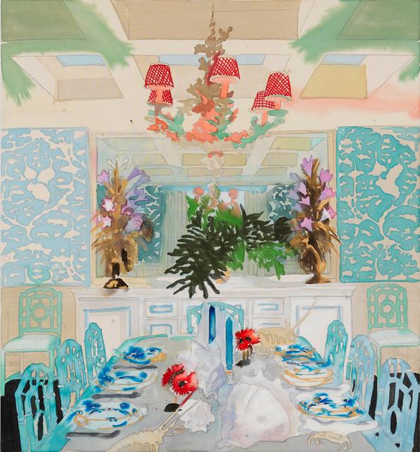 , 'Celerie Dining Room,' 2018, C O U N T Y