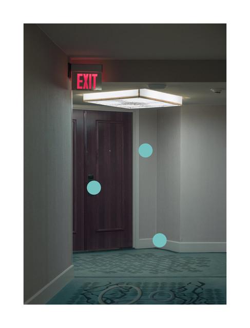, 'Exit Hotel,' 2018, Hans Alf Gallery