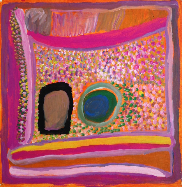 , 'Jumujarra - Two Waterholes,' 2010, Rebecca Hossack Art Gallery
