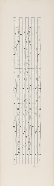 Yaacov Agam, 'Untitled 8 from +-x9 Portfolio', 1980, RoGallery