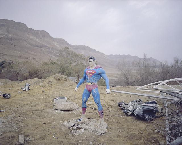 , 'Hide and Seek, Superman, Dead sea,' 2017, °CLAIR Galerie