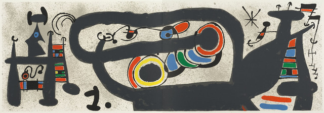 Joan Miró, 'UNTITLED from Le Lezard aux Plumes d'Or', 1971, Christopher-Clark Fine Art
