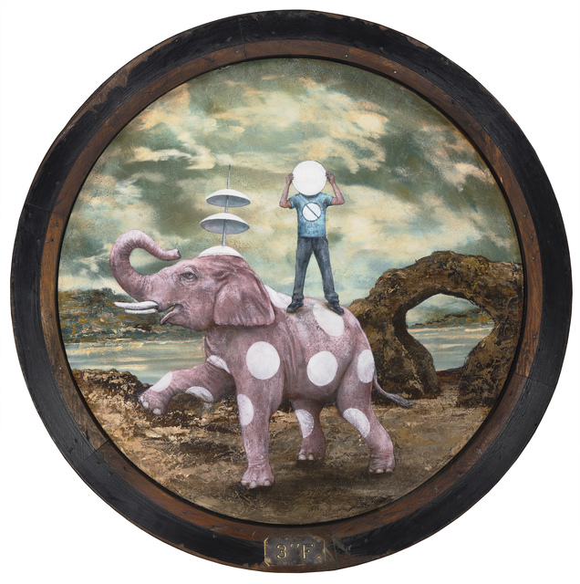 , 'The Spotty Nostalgia of the Pink Elephant,' 2019, Patricia Rovzar Gallery