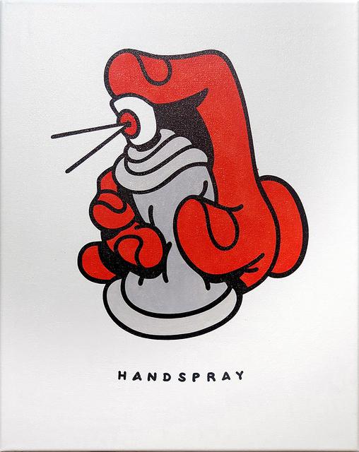 , 'Handspray,' 2018, KOLLY GALLERY