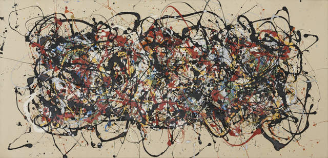, 'Not Title (After Pollock),' 1983, Robert Berman Gallery
