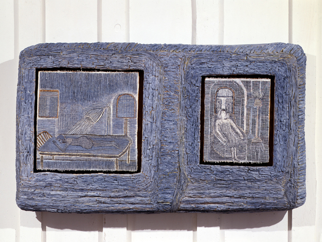 , 'Woman On Chair Next to Woman On Bed,' 1984, Lesley Heller Gallery