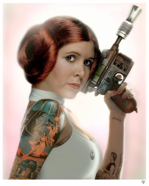 JJ Adams, 'Princess Leia (colour)', 2015, Reem Gallery