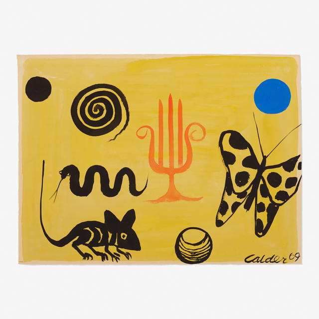 Alexander Calder, 'The Hand of Fatima', 1969, Rago