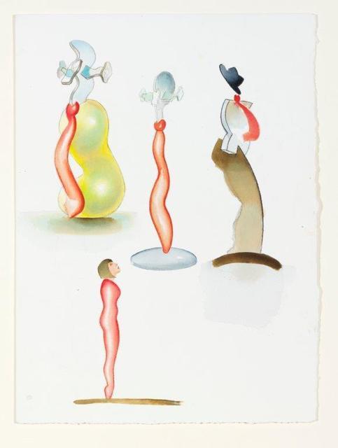 , 'Studies for Glass Sculpture,' 2007, Christopher Kingzett Fine Art