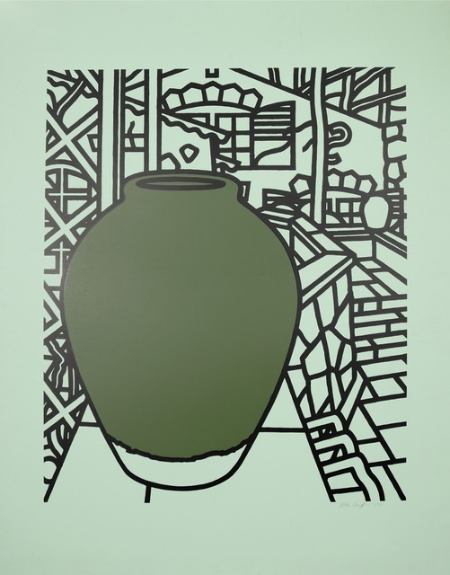 , 'Patrick Caulfield, Jar (Green), screenprint, 1974,' 1974, Shapero Modern