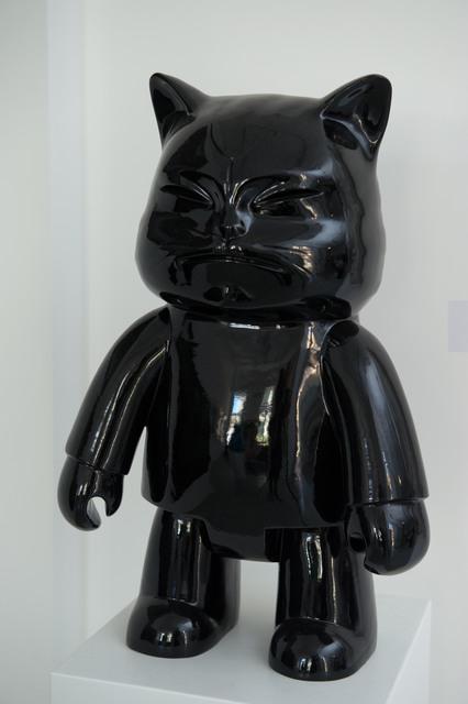 Hiro Ando, 'ROBOT CAT BLACK 60 cm', Gallery 32