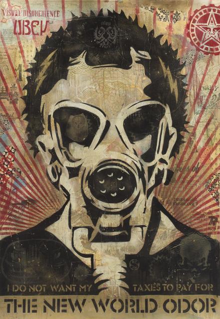 Shepard Fairey, 'New World Odor', 2005, Julien's Auctions