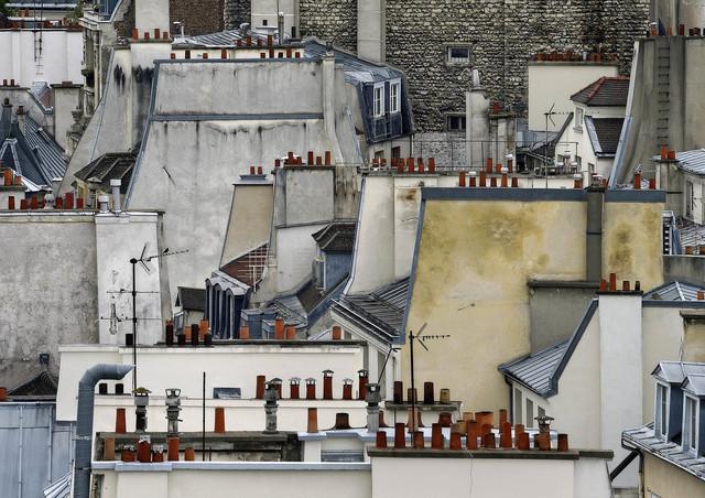 , 'Paris roof tops #01,' 2014, CHRISTOPHE GUYE GALERIE