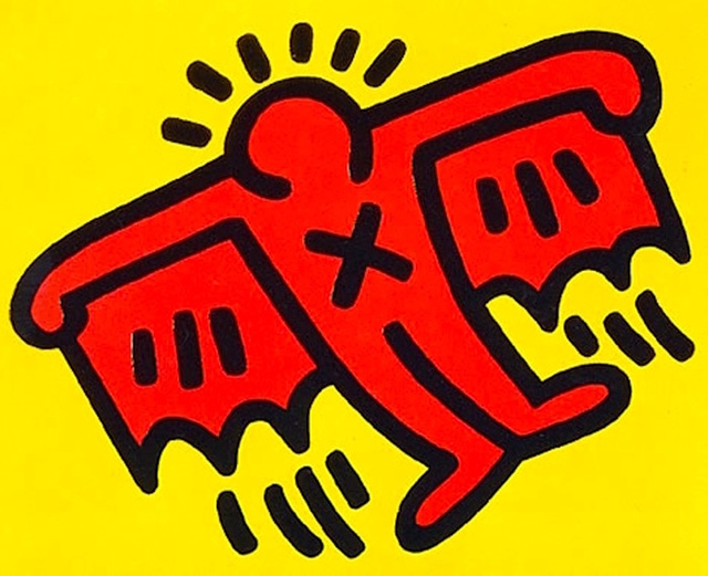 Keith Haring, 'X-Man from Icons', 1990, Gregg Shienbaum Fine Art