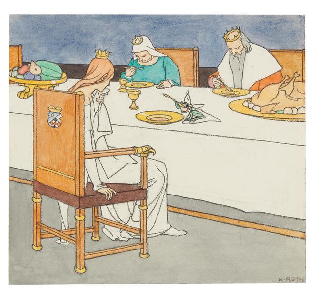 , 'The Frog King or the Iron Heinrich,' 1915, Galerie Kovacek & Zetter