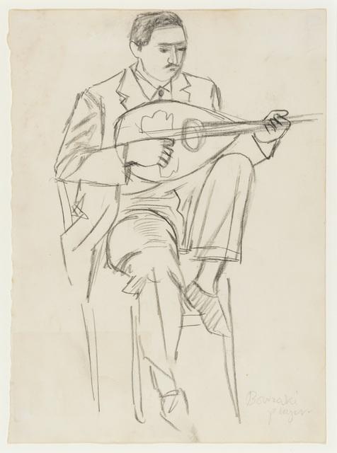 , 'Bouzouki Player II,' ca. 1960, Osborne Samuel