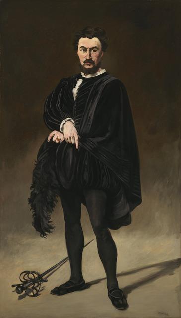 Édouard Manet, 'The Tragic Actor (Rouvière as Hamlet)', 1866, National Gallery of Art, Washington, D.C.