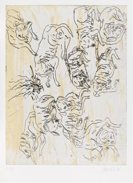 """, 'Schlafende Hunde I, from """"Schlafende Hunde"""",' 1998-1999, Gagosian"""