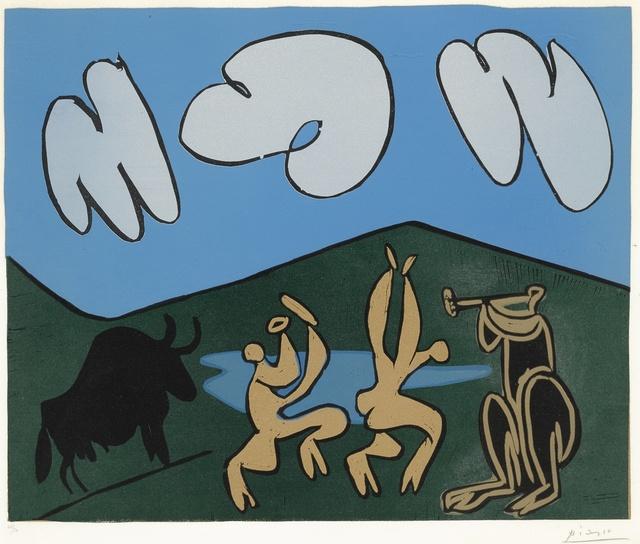 Pablo Picasso, 'Bacchanale au taureau noir (B. 935; Ba. 1253)', 1959, Sotheby's