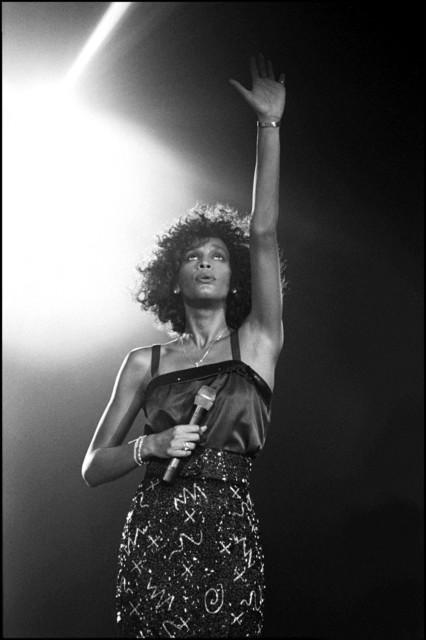 David Corio, 'Whitney Houston, Wembley Arena, London, UK ', 1988, ElliottHalls