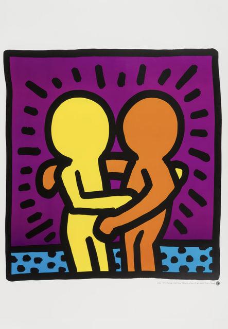 Keith Haring, 'Untitled (Best Buddies)', 1987, Artsnap