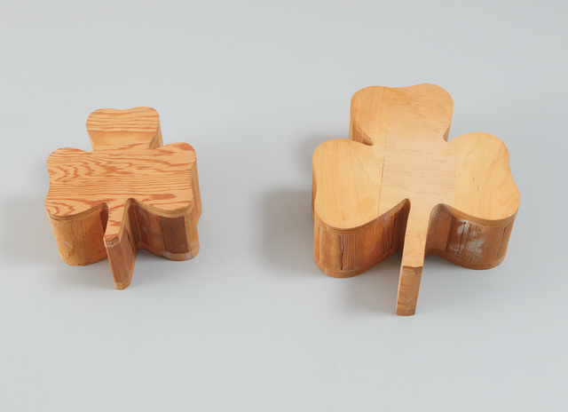 Polly Apfelbaum, 'Two works: (i-ii) Wood Clovers (from Daisy Chain)', 1989, Phillips