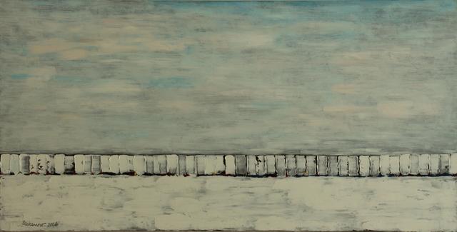 , 'Train Wreck,' 2016, Cerulean Arts
