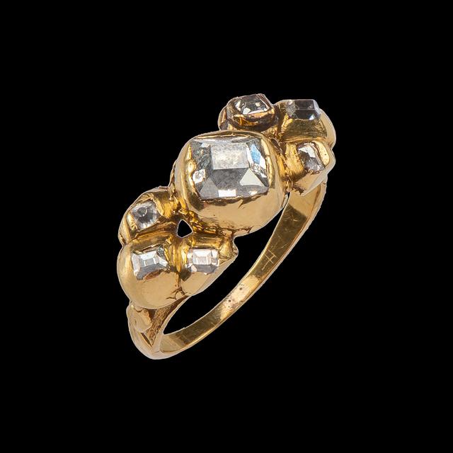 , 'Diamond Cluster Ring,' c. 1660-1690, Les Enluminures