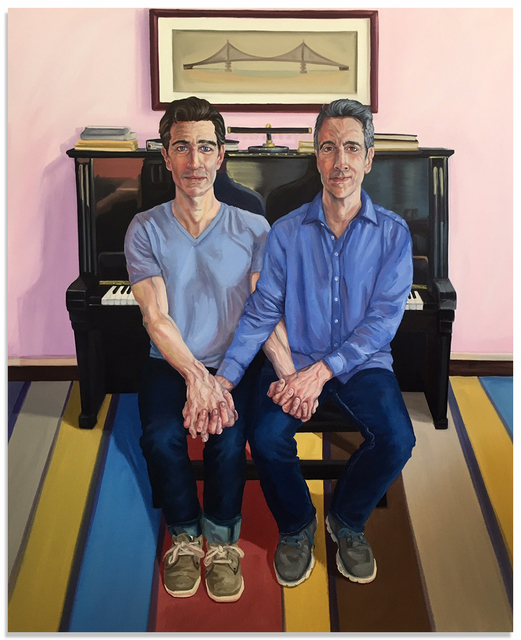 , 'Joe & Joe,' 2016, Anna Zorina Gallery