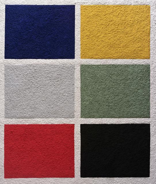 , 'Six Colors, after Gerhard Richter,' 2008, Matthew Liu Fine Arts